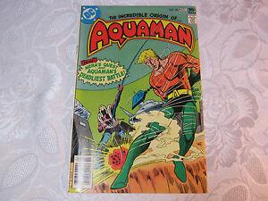 AQUAMAN  1970'S DC COMIC   NO. 58  NOV   T*