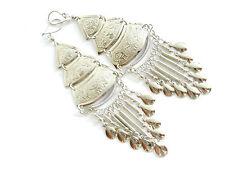 Women Silver Ethnic & Tribal Earrings without Stone