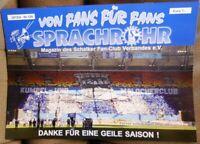 FC Schalke 04 - Sprachrohr Magazin von Fans für Fans #129 S.F.C.V. + Poster /160