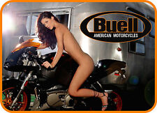 SEXY GIRL NUDE BUELL MOTORCYCLE NAKED REFRIGERATOR FRIDGE MAGNET TOOLBOX NASCAR