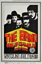 The Band POSTER Sons Of Champlin Ace Of Cups Winterland Fillmore BG169-3 Tuten