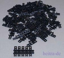Tecnologia LEGO - 100 x catene membri larga NERO/Collegamenti catena/3873 Merce Nuova
