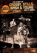 CROSBY STILLS NASH & YOUNG New Sealed COMPLETE HISTORY & BIOGRAPHY DVD