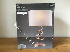 Next Ribbon Copper Table Lamp