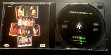 """AMERICA  - IN CONCERT ""RARE CD 1985 LIKE NEW CONDITION CAPITOL RECORDS"