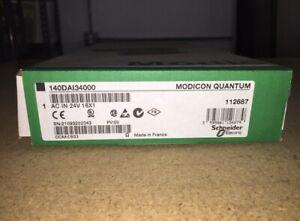 140DAI34000 Modicon 14VAC 16PT Input Quantum