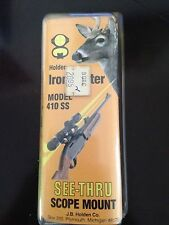 Ironsighter Stainless Steel Mount Model 410SS Ruger Red Hawk, 44 MAG.