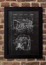 Espresso Machine FineArt Print A4 Handsigniert Kunstdruck Galeriequalität