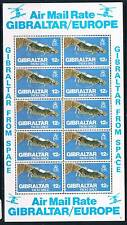 Gibraltar 1978 Gibraltar from Space SHEET SG 398 MNH