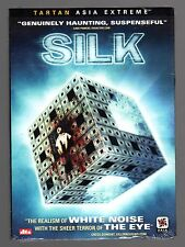 Silk (DVD) Chao-Bin Su, Chang Chen, Chun-Ning Chang, Tartan Asia Extreme! NEW!