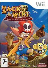 Zack & Wiki: Quest for Barbaros' Treasure (Nintendo Wii, 2008)