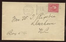 USA FLAG PMK Virginia Charlottesville 1917 cover
