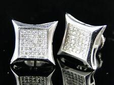 Mens/Ladies Kite 11 Mm Diamond Stud Earrings .25 Ct