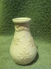 "Ceramic Vase - 4"" tall made in China"