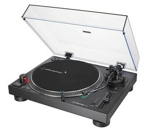 Audio Technica AT-LP120X USB Manual Direct-Drive Turntable - Black PC MAC Copy