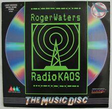 Radio K.A.O.S. Roger Waters ex Pink Floyd  Band Leader KAOS RaRe LaserDisc Edit.