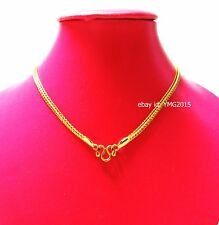 """NECKLACE 1 HOOK STAINLESS with GOLD Color 25""""Length for Hang Amulet Buddha"""