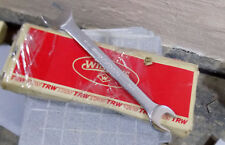 """Vintage JH  WILLIAMS 7/8"""" X 11/16"""" Open End Wrench #1030 USA B/New SUPERRENCH"""