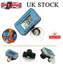 Digital LCD Waterproof Fish Aquarium Water Tank Temperature Thermometer Blue