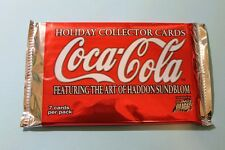 Coca Cola Holiday Trading Card Pack