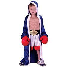 Boxer Costume Toddler Kids Rocky Halloween Fancy Dress