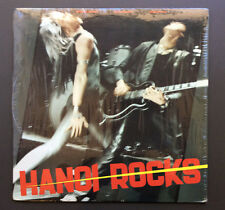 HANOI ROCKS - Bangkok Shocks Saigon Shakes LP Vinyl Record VG+ 1985 USA Pressing