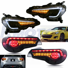 LED Headlights With Tail Lights For Subaru BRZ Scion Frs Toyota GT-86 2013-2017