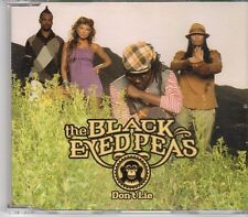 (EK844) The Black Eyed Peas, Don't Lie - 2005 DJ CD