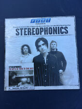 CD CARDSLEEVE STEREOPHONICS PROMO FIAT UNO FRENCH YOU GOTTA GO THERE TO COME