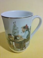 Norman Rockwell Museum 1982 Vintage- For a Good Boy- China Cup, Coffee Tea
