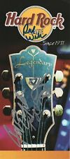 KANSAS band REAL hand SIGNED Hard Rock Cafe advert #2 COA by Kerry Livgren +3