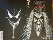 KING IN BLACK Sketch Cover Variant #1 Knull Venom Horton