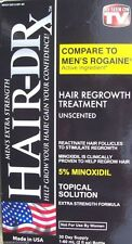 Hair-DRx- Men's Extra Strength Hair Regrowth Treatment (Unscented)
