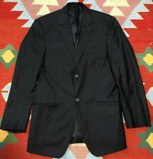 Versace Collection Blazer Navy Blue Size 38R 2 Button Suit Jacket