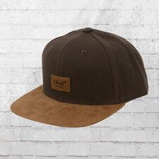 Reell Suede Cap Snapback Kappe braun Mütze Haube Basecap Baseball Hat
