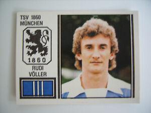 Panini Fussball 81: Rudi Völler - Rookie, # 365, top !!!