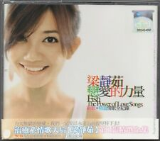 FISH LEONG 梁靜茹 (梁静茹) The Power Of Love Songs 戀愛的力量 2003 MALAYSIA DELUXE 2CD NEW