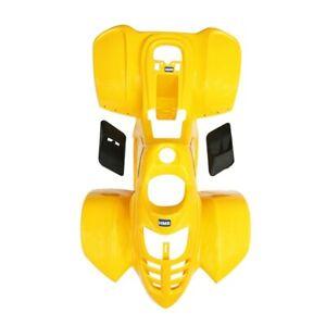 HMParts Quad ATV Kinderquad 50-110 CCM Plastik Set gelb