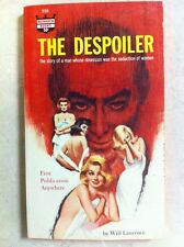 The Despoiler - Will Laurence - Romance Vintage Paperback Monarch 1965 CLEAN!