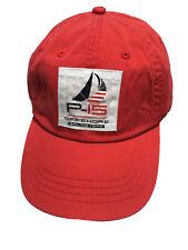 b057953e Polo Ralph Lauren P 15 Offshore Adjustable Mens Ball Cap Hat Cotton Red