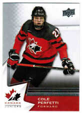 2020 UD TEAM CANADA HOCKEY JUNIORS/WOMEN/ALUMNI BASE CARDS (#1-100) U-Pick List