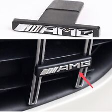 AMG Letters Emblem Badge For Mercedes Benz C-Class W205 W204 GTR GRILL Genuine