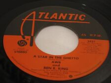 """AWB & Ben E. King  """"A Star In The Ghetto"""" / """"What Is Soul""""  R&B, Funk  1977  EX"""
