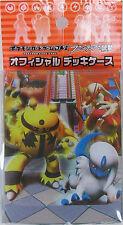 Pokemon Card DPt3 Official Deck Case Electivire Absol Japanese