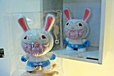 "Ron English Apocalypse Grin 8"" Dunny Designer Toy 2005 CHASE WHITE 1/6"
