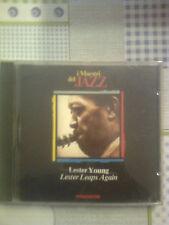I MAESTRI DEL JAZZ - LESTER YOUNG,LESTER LEAPS AGAIN - (ED. DE AGOSTINI)  CD