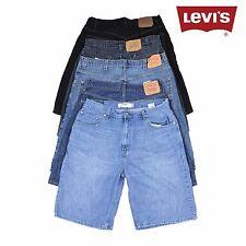Mens Vintage Levi Strauss Denim Shorts Loose Fit Hemmed Various
