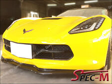 2014+ Corvette C7 Stingray S2 Carbon Bumper Lip W/ Winglets + Side Skirts Rocker