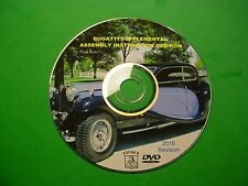 POCHER 1/8 BUGATTI SUPPLEMENTAL INSTRUCTION DVD-ROM