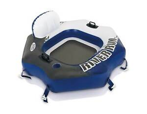 Intex River Run Connect Lounge Inflatable Floating Water Tube (Used)